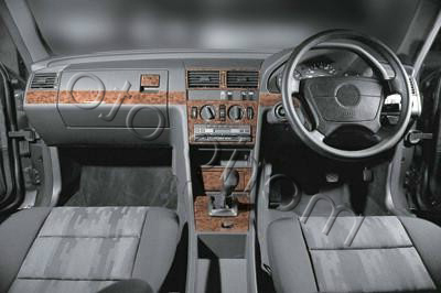 Mercedes C Serisi Dash Trim Kit 1993-1995 16 Pieces